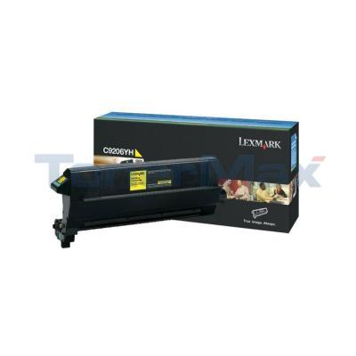 LEXMARK C920 TONER CART YELLOW TAA 14K